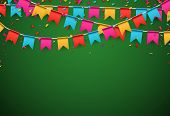 picture of confetti  - Celebrate banner - JPG