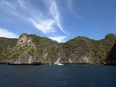 stock photo of phi phi  - Ko Phi Phi Ley Island of the Phi Phi archipelago - JPG