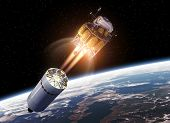 picture of ares  - Crew Exploration Vehicle In Space - JPG