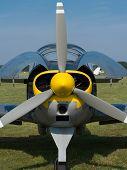 Постер, плакат: engine aircraft