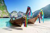 picture of phi phi  - Maya bay Phi Phi Leh island - JPG
