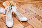 Bouquet And Shoes