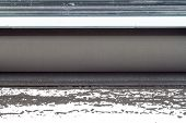 foto of cartridge  - laser printer cartridge on a white background - JPG