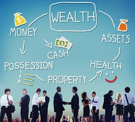 image of possession  - Wealth Money Possession Investment Growth Concept - JPG