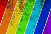 Multi colored vintage background