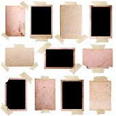 Vintage photo frames set 7, big collection