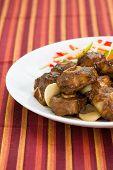 Estilo caribenho de Curry de rabo de boi