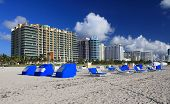 landscape,shot of  miami beach florida