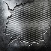 crack metal template background (You can find more templates and textures in my portfolio)