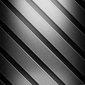 metal striped background