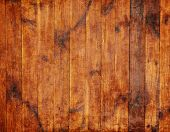 Old brown wooden planks background