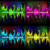 Abstract party background (Vector collection)