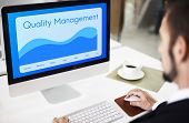 Quality Assurance Guarantee Warranty Trustworthy Concept poster