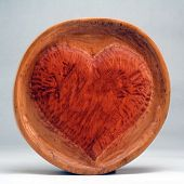 Vooden heart - unauthorized popular art - folklore