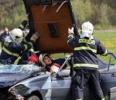 Accident - training rescue team