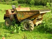 Rusty Dumper Truck