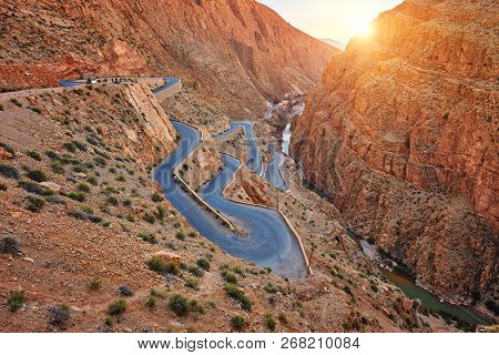 Dades Gorge Is A Gorge
