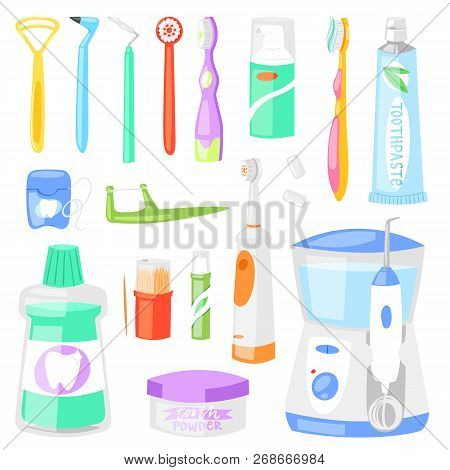 Toothbrush Vector Dental Hygiene Tooth