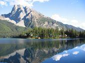Emerald Lake Lodge And Mt. Burgess - Yoho National Park, British Columbia, Canada