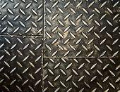 Grunge rostigen Metall Hintergrund, metallische Platten.