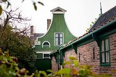 Details Of Cultural Heritage In An Old Dutch Village In The North Of The Netherlands. poster