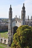Kings College Chapel Above