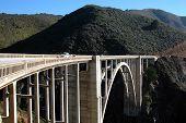 foto of bixby  - bixby bridge - JPG