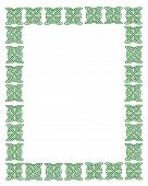 Celtic Knot Frame St. Patty'S Day