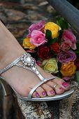 Bridesmaid Foot