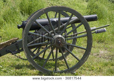 Постер, плакат: Гражданской войны оружие, холст на подрамнике