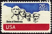 Shrine Of Democracy Stamp