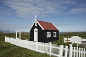Small chapel in Iceland.