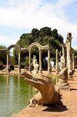 Villa Adriana Near Rome Italy