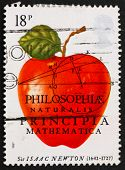 Postage Stamp Usa 1982 Sir Isaac Newton