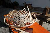 Braiding A Basket