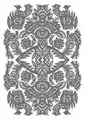 Vertical Decorative Pattern