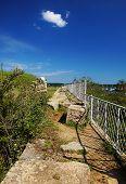 Fence And Walkway