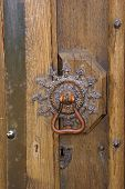 Medieval Ornate Brass Door Knob