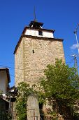 Medieval Ottoman Clock Tower In Shtip Macedonia