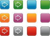 Cor botões com ícone de seta