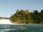 Rhine Falls Near Schaffhausen Switzerland