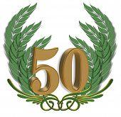 50Th Anniversary Ornamental Leaves