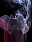 Pastel Colored Smoke Detail