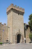 Porta romana. Vitorchiano. Lazio. Italy.
