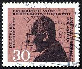 Briefmarke Deutschland 1967 Friedrich von bodelschwingh