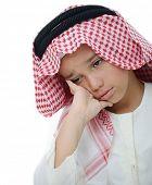 Little Arabian boy portrait