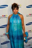 NEW YORK-MAY 29: Actress Tamara Tunie attends the Samsung Hope for Children gala at Cipriani Wall St
