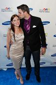 NEW YORK-MAY 29: Olympic fencer Tim Morehouse and wife Rachael attend the Samsung Hope for Children