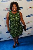 NEW YORK-MAY 29: TV host Sherri Shepherd attends the Samsung Hope for Children gala at Cipriani Wall Street on June 11, 2013 in New York City.