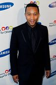 NEW YORK-MAY 29: Singer John Legend attends the Samsung Hope for Children gala at Cipriani Wall Street on June 11, 2013 in New York City.